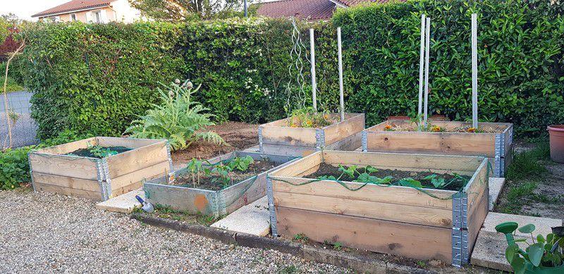 Mon jardin de fille :  c'est prêt !!