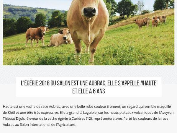 """Lundi 26 Février 2018 : Sortie """"Découverte"""" au Salon de l'AGRICULTURE à la porte de VERSAILLES"""