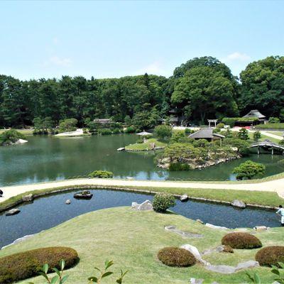 Okayama (2) ... Ici aussi, jardin, château et rivière font bon ménage