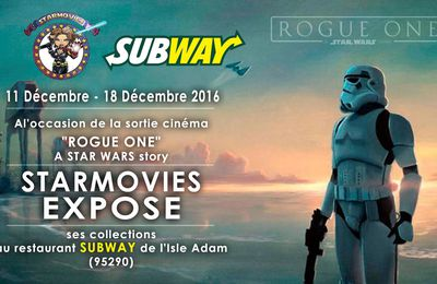 Starmovies expose pour la sortie de Rogue One
