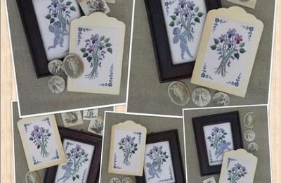 Angeli e violette di RanatoParolin ... un delizioso  connubio
