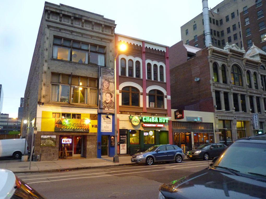 LoDo cafés, pubs ,restaurants et boites de nuit.