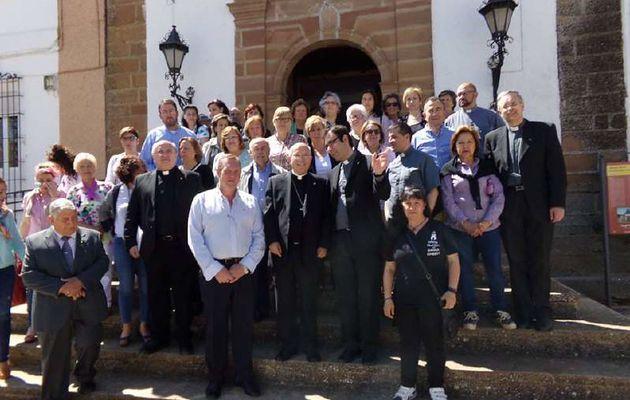 Gentil visita del Nuevo Obispo de Jaén