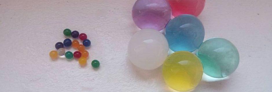 Idées activités : Les perles d'eau