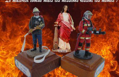 4 décembre : les pompiers fêtent Sainte barbe !