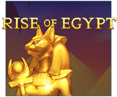 machine a sous Rise of Egypt logiciel Playson
