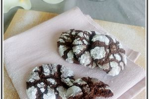 Cookies fondants et craquants  au chocolat
