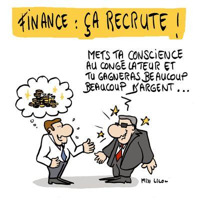 """""""Finance, ça recrute !"""""""