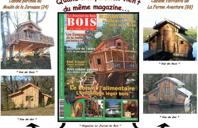 Construction de cabanes - Inspiration commune !