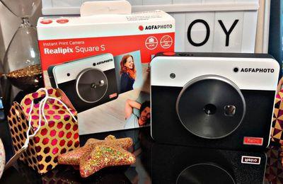 Mon Appareil photo instantané 2-en-1 numérique qui imprime des photos  Realipix Square S