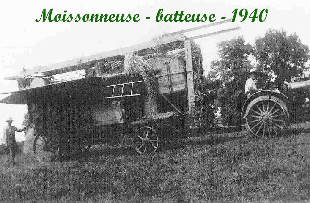 Cet album est composé des premières photographies prises au début du siècle à Montbrun Bocage. Montage et titrage :Roger Calvel