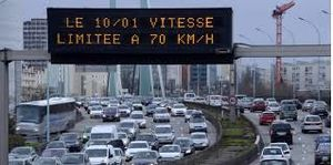 Vitesse sur le boulevard périphérique de Paris: le Conseil d'Etat valide la limite de 70 km/h