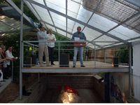 La canopée de La Rouvière : présentation des travaux finalisés - Soirée événementielle et festive le 25 mai 2011.