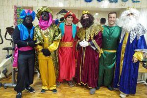 Los Reyes Magos visitan Barrantes y las Mercedarias