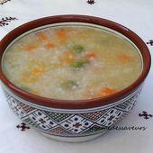 Soupe de semoule d'orge aux légumes - Le Sésame Des Saveurs