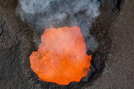 Au cœur de la Fournaise  Éruption Du 15 Septembre Au 1 Novembre 2018