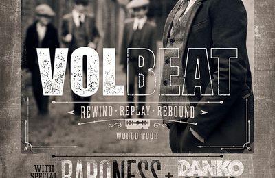 VOLBEAT annonce une tournée européenne avec BARONESS & DANKO JONES. Découvrez le nouveau clip !