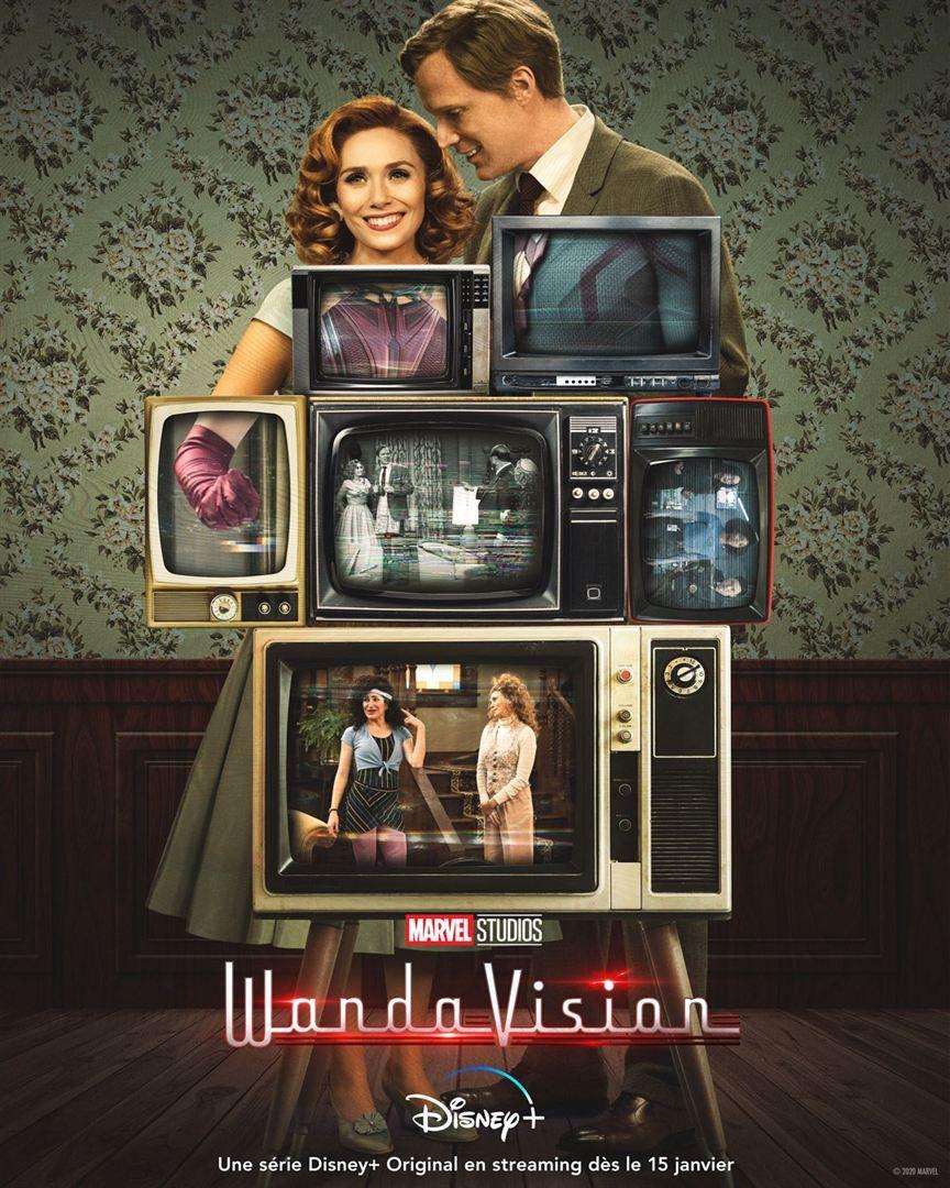 Marvel Studios présente WandaVision (BANDE-ANNONCE) avec Elizabeth Olsen, Paul Bettany, Kathryn Hahn - Le 15 janvier 2021 sur Disney+