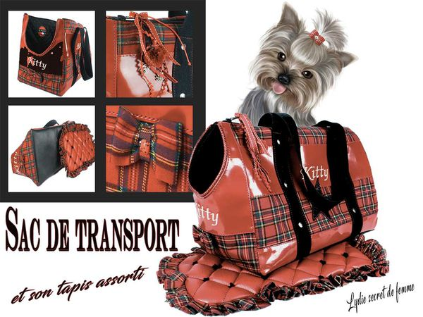 Sac de transport pour animal de compagnie