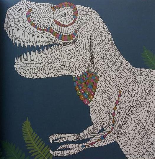 Les ateliers du calme avec les Editions Deux Coqs D'Or - Dinosauria - Activités créatives pour enfants et adultes