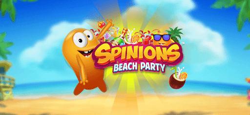 Le jeu de casino gratuit du mois d'août 2021 : Spinions Beach Party de Quickspin