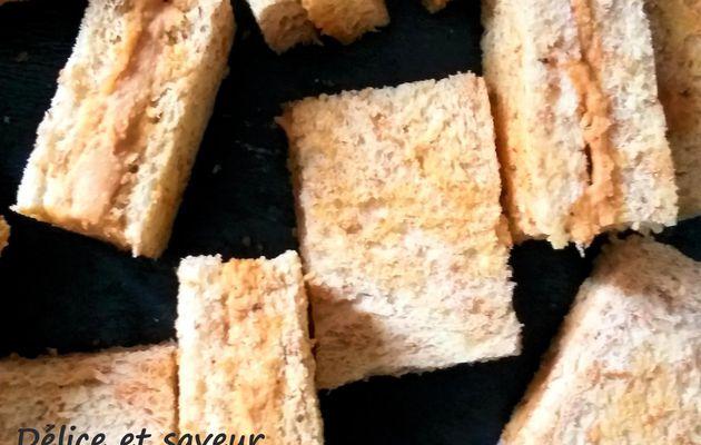 mini sandwichs foie gras, sirop d'érable - wisky