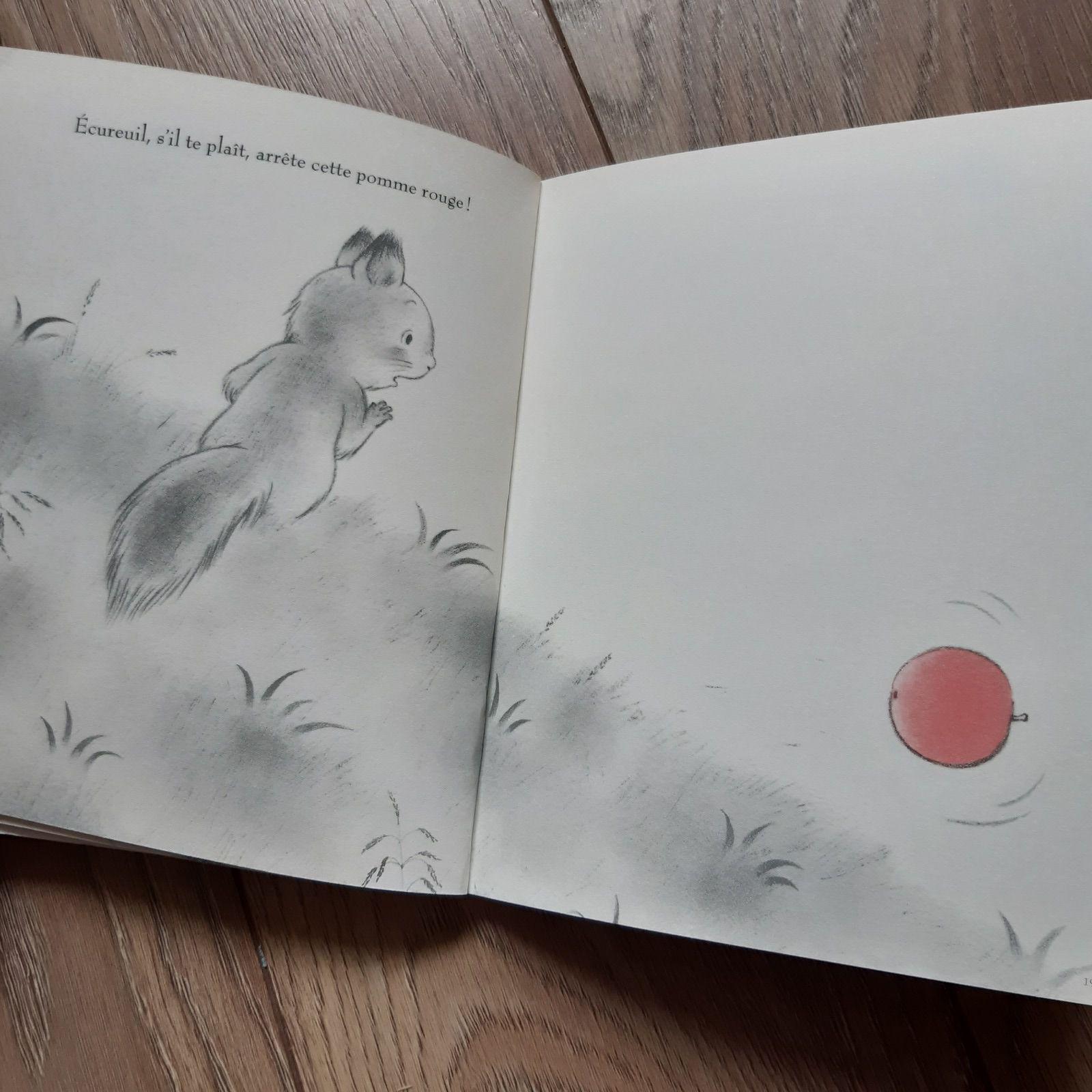 La pomme rouge de Kazuo Iwamura