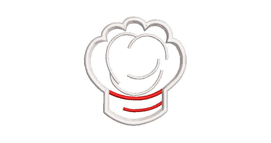 BRODERIE TOQUE CHEF APPLIQUE
