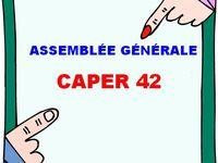 L'ASSEMBLÉE GÉNÉRALE DU CAPER 42