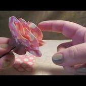 Duct Tape Rose Pen Tutorial (PART 2) - PETAL PLACEMENT