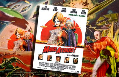 👽 TIM BURTON - MARS ATTACKS ! (1996)