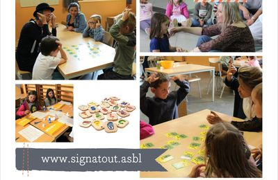 Atelier de sensibilisation destiné aux enfants