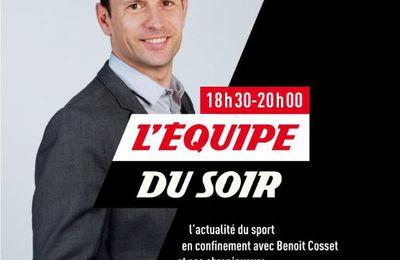[Infos TV] Votre Journée TV du mardi 14 avril sur la Chaîne l'Equipe !