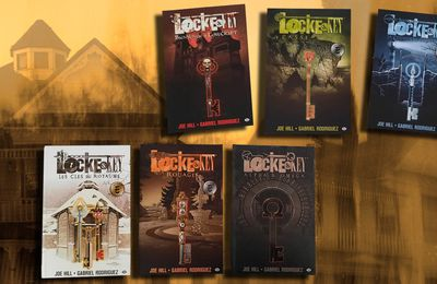 💬📺 JOE HILL / GABRIEL RODRIGUEZ - LOCKE & KEY (2008-2013)