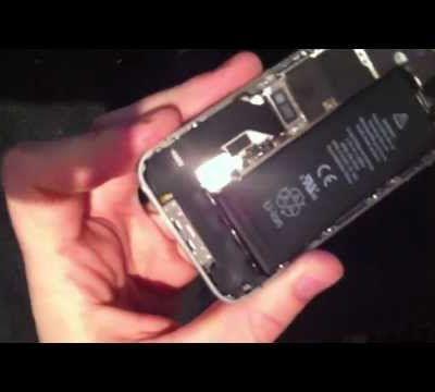 Comment réparer ou changer la vitre de son iPhone 4S ?