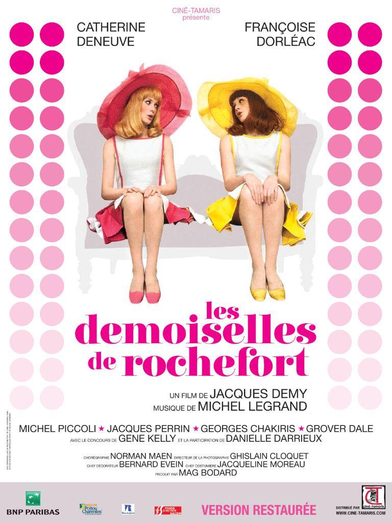 LES DEMOISELLES DE ROCHEFORT de JACQUES DEMY