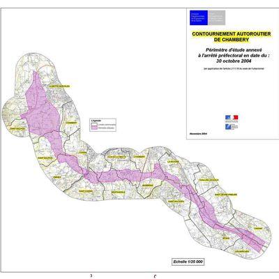 Relance du projet de Contournement Autoroutier de Chambéry