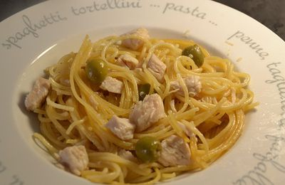 Recette cookeo sphaghettis poulet olive