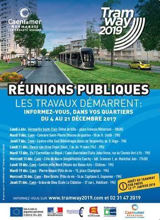 #Caenlamer - Projet tramway - le programme des travaux semaine 13 !