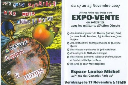 Action directe - Expo-vente en solidarité - Défense Active