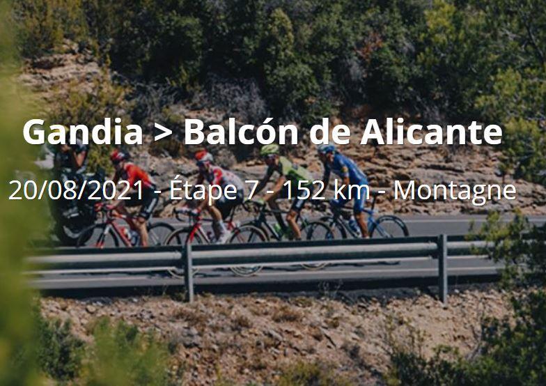 Vuelta 2021 : Sur quelle chaîne suivre la 7ème étape vendredi ?