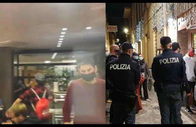 """De plus en plus d'Italiens n'obéissent plus aux #lois liberticide et crient """"Liberta !"""""""