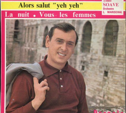"""Tonio soave, un chanteur français des années 1960 avec des titres tels que """"sensationnel"""" et """"requiem"""""""