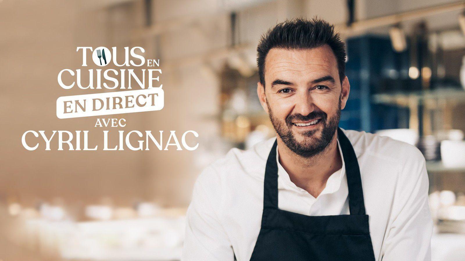 """""""Tous en cuisine en direct avec Cyril Lignac"""" sur M6 : Les ingrédients de ce vendredi 9 octobre (Poisson en croûte de sel vierge de légumes)"""