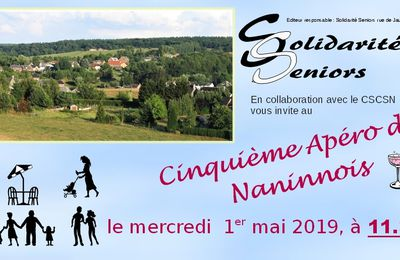 Apéro des Naninnois 1er mai 2019