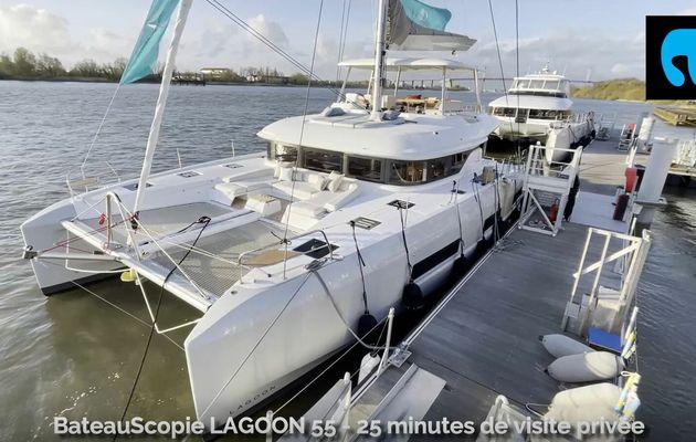 BateauScopie Lagoon 55 (2021) - 25 minutes de visite privée