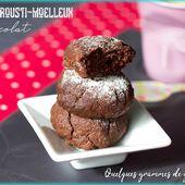 Biscuits crousti-moelleux au chocolat