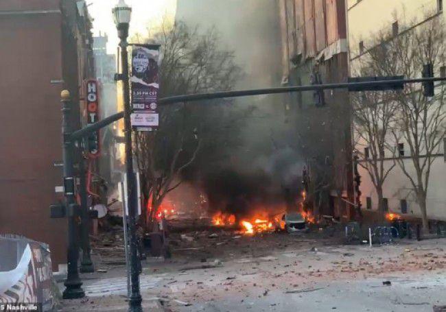 Explosion le jour de Noël à Nashville: la police évoque un «acte intentionnel»