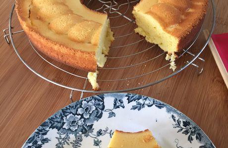 Gâteau moelleux citron et mascarpone