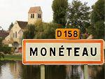 Monéteau centre de l'Yonne sur les rives de l'Yonne ...